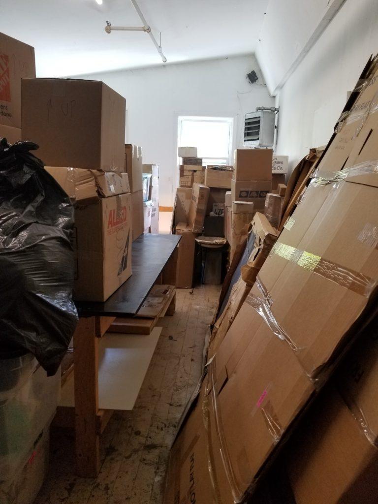 Photo of many boxes